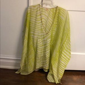 Lime Green Cover Up